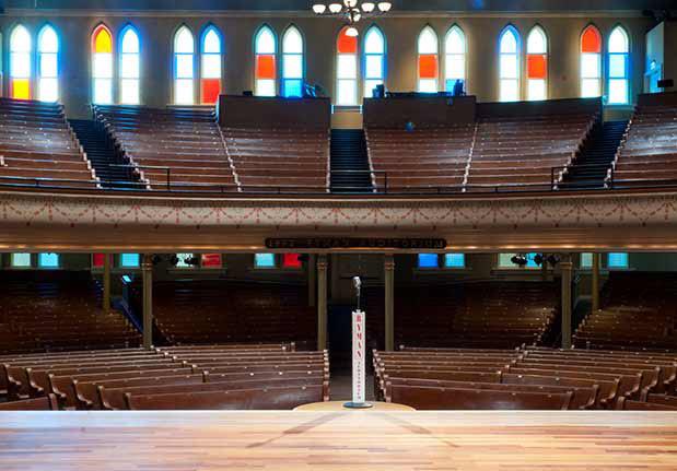 Ryman Auditorium Stage 2021 Nashville Travel Planning
